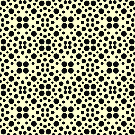 Seamless halftone pattern. Geo, geometric background, screen print texture, black and white vector graphic, seamless fabric print, seamless halftone background, digital technology background