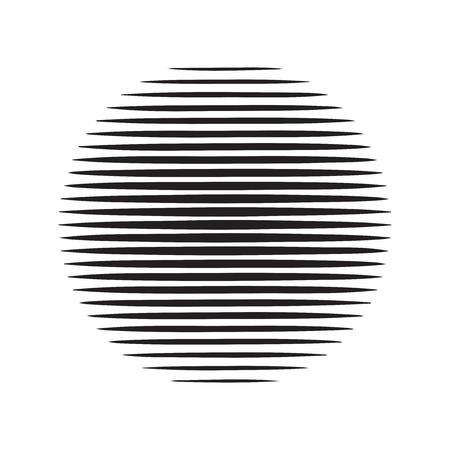 Halftone lines texture, retro style design