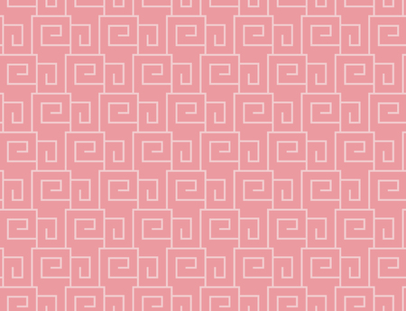 Seamless pattern in the Greek style, meander motif, greek key ethnic seamless print with meander form Illustration