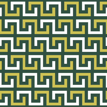 Seamless pattern in the Greek style, meander motif, greek key ethnic seamless print with meander form