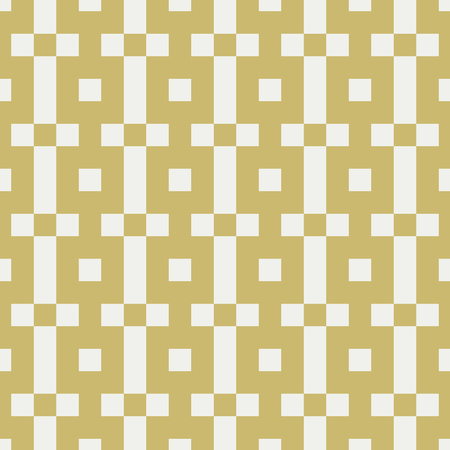 Collection of 16 cute seamless patterns with stripes, stars, bricks. Geo seamless pattern with gold and grey. Useful for  fabric print, wrapping paper, scrap booking, web design