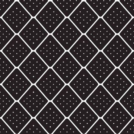 Diagonal lines and square pattern. Diagonal netting.