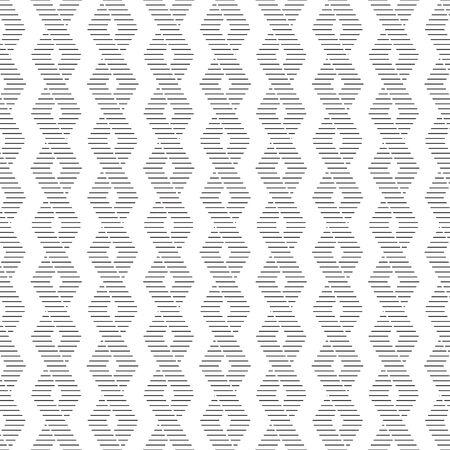 Seamless zigzag pattern, seamless geometric background, fabric print, black and white vector illustration. Illustration