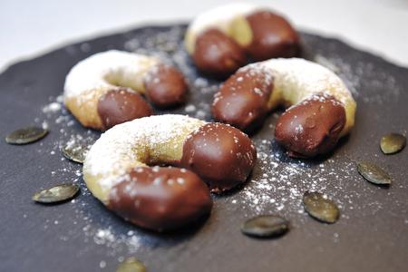 sweet pastries: Sweet pastries croissants