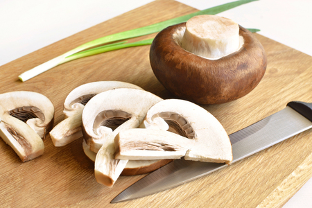 royal champignons and onions Zdjęcie Seryjne
