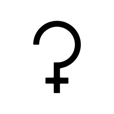 Astrology symbol Ceres. Vector Illustration.