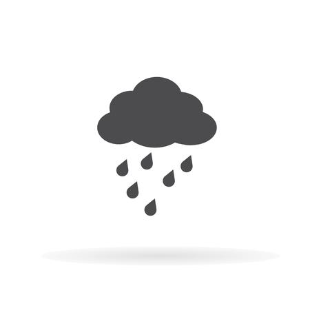 Rain icon. For web, business, finance and communication. Vector Illustration. Иллюстрация