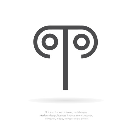 Makemake symbol. Vector icon. Illustration