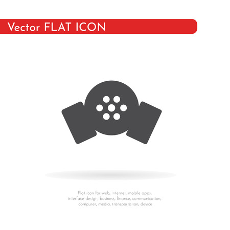 Respirator icon. For web, business, finance and communication. Vector Illustration. Vectores