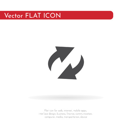 Loading icon. For web, business, finance and communication. Vector Illustration. Illustration