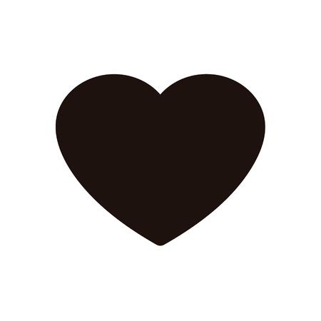 E commerce like heart icon.