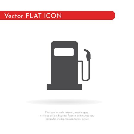 Fuel icon. For web, business, finance and communication. Vector Illustration.