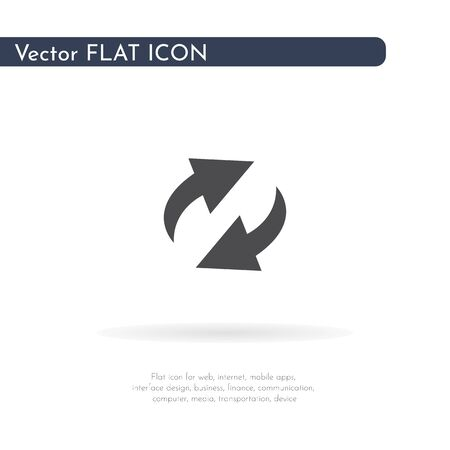 Loading icon. For web, business, finance and communication. Vector Illustration. Фото со стока