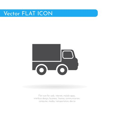 Car icon. For web, business, finance and communication. Vector Illustration.