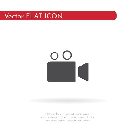 Camera icon. For web, business, finance and communication. Vector Illustration.
