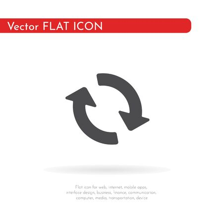 Repetition icon. For web, business, finance and communication. Vector Illustration.