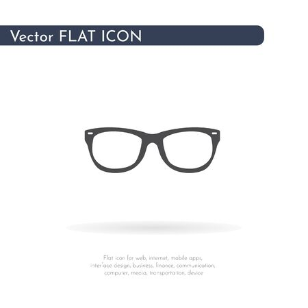 Glasses icon. For web, business, finance and communication. Vector Illustration. 写真素材