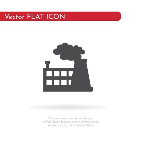 Factory icon. For web, business, finance and communication. Vector Illustration. Stock fotó