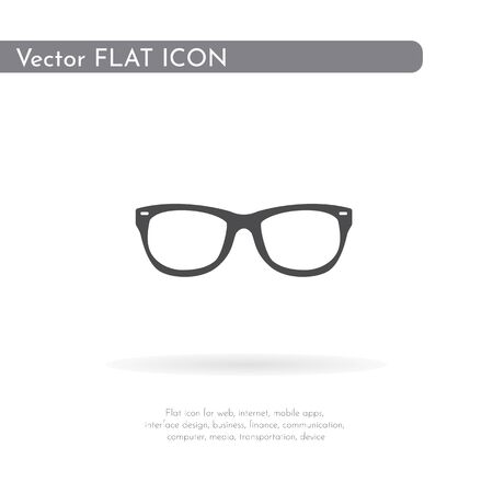 Glasses icon. For web, business, finance and communication. Vector Illustration. 写真素材 - 129973013