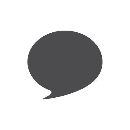 Communication icon. Flat design style. Vector Illustration.