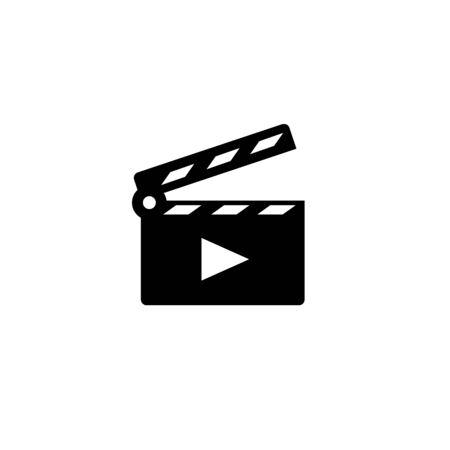 Movie Clapper Open icon.