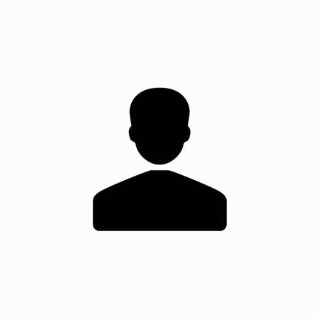 Businessman flat icon.