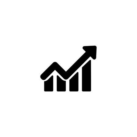 Line chart icon. Stock fotó