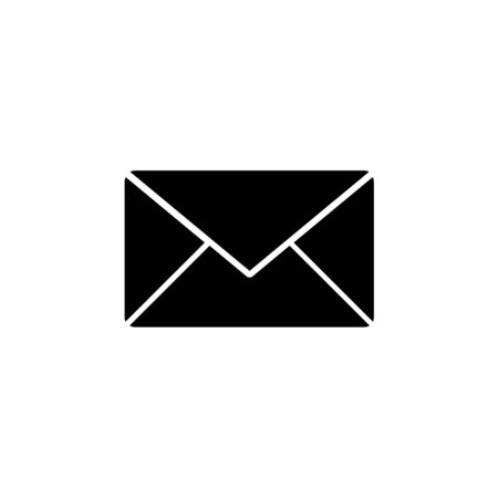 New email outline icon. 스톡 콘텐츠