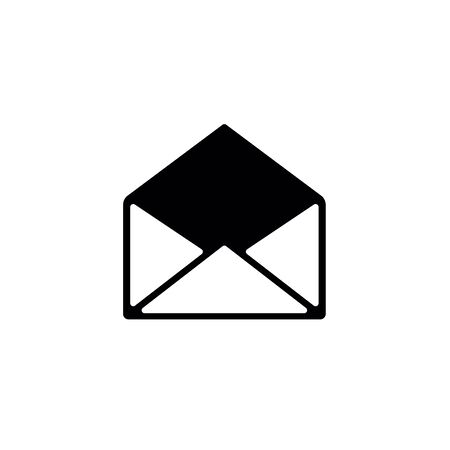 Opened email envelope icon.