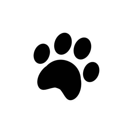 Paw print icon.