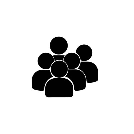 Users group icon. Banque d'images
