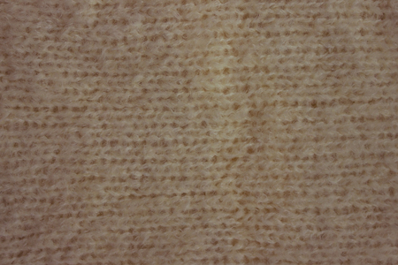 Fluffy, soft wool, mohair. Homogeneous mating, large loops. White color, no picture.