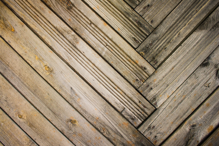 Wooden slats, unpainted planks. Old house in the countryside. Warm colors, natural colors.