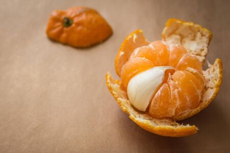 Bummer, unpleasant surprise. The sweet is mixed with the bitter. Mandarin with garlic slice. A stranger in the team.