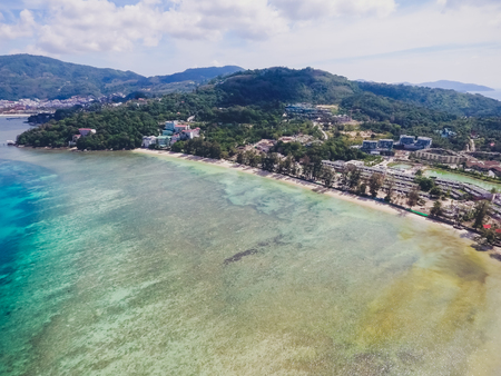 Patong view from Tri Trang beach top view