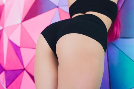 tight brunette ass