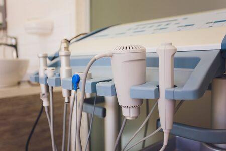 Closeup of new cosmetology equipment in modern aesthetic clinic. Reklamní fotografie