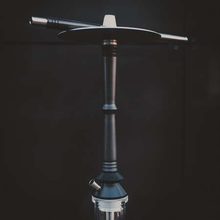 part of the hookah, modern design, on a background.