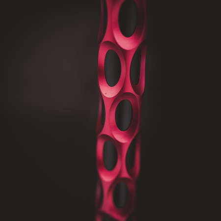 part of the hookah, modern design, on a background