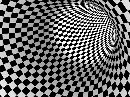 checker: Black And White Checker Texture Background. 3d Render Illustration Stock Photo