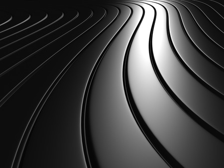 lines abstract: Aluminum Abstract Silver Metal Background. 3d Render Illustration