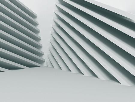 추상적 인 아키텍처 건설 기하학적 배경입니다. 그림 3d 렌더링