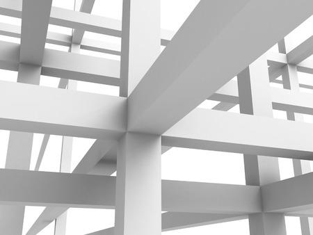 arquitectura abstracta: Abstracto Arquitectura Construcci�n Estructura de fondo. 3d hacer ilustraci�n