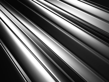 Silver Metallic Textured Abstract Background. 3d Render Illustration