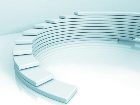 추상 현대적인 디자인 배경입니다. 그림 3d 렌더링