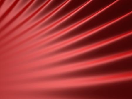 red wave: Abstract Red Wave Design Background. 3d Render Illustration