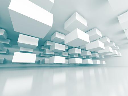 arquitectura abstracta: Resumen Antecedentes Arquitectura Futurista Dise�o. 3d hacer ilustraci�n