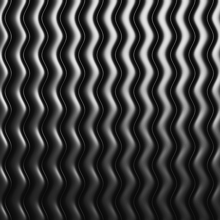 decorration: Aluminum Abstract Metallic Pattern Background. 3d Render Illustration