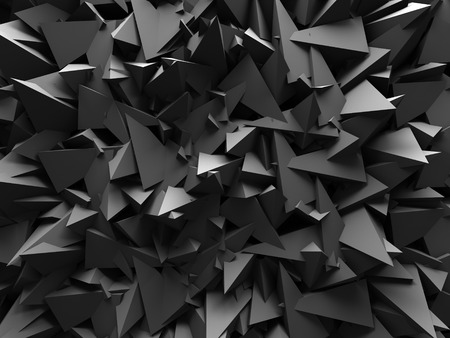 bordo: Abstract Dark Chaotic Wall Design Background. 3d Render Illustration