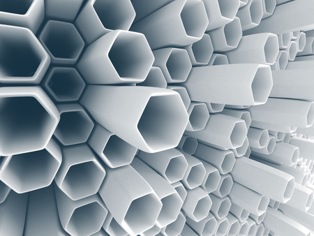 chaotic: Abstract White Wall Chaotic Background. 3d Render Illustration